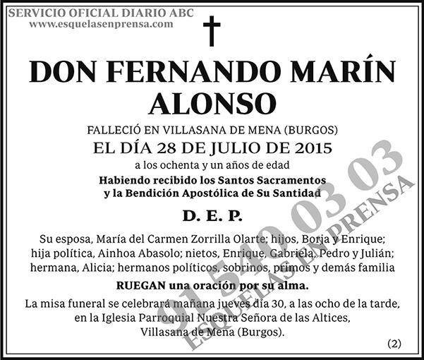 Fernando Marín Alonso